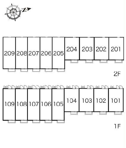 レオパレス山竹Ⅰ 107号室のその他