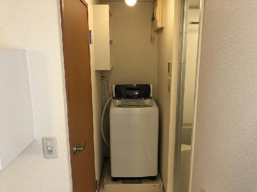 レオパレス山竹Ⅰ 107号室の洗面所