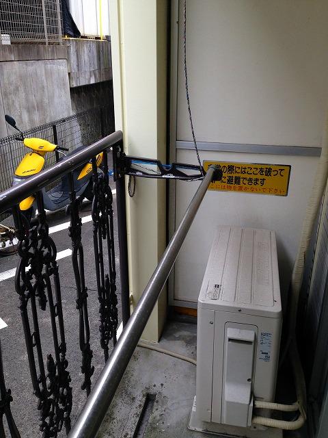 C'pac三河豊田 102号室のバルコニー