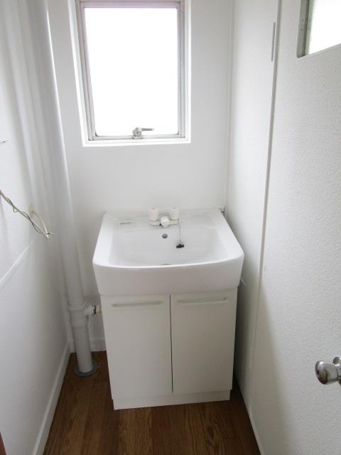 芝山団地11号棟 403号室の洗面所
