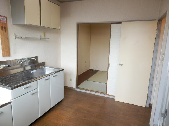 富貴荘 G号室のキッチン