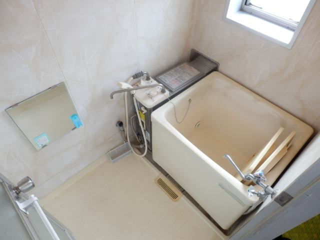 富貴荘 G号室の風呂