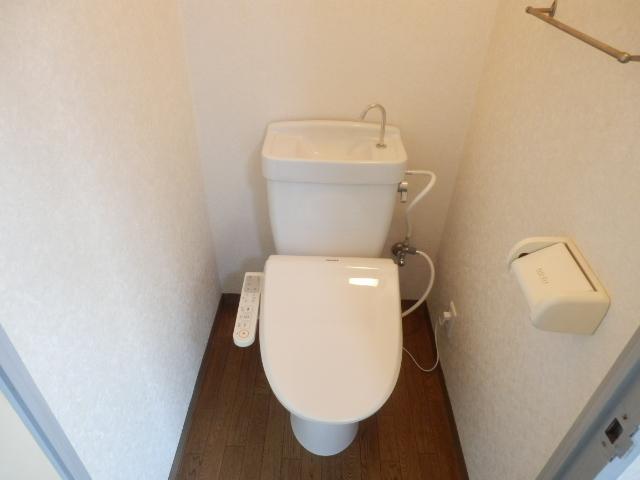 富貴荘 G号室のトイレ