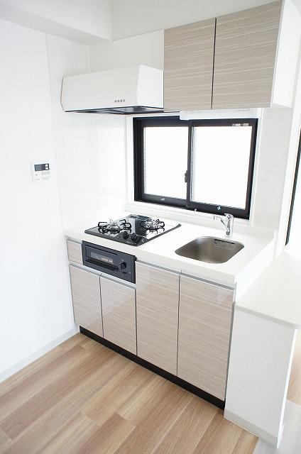 INTERCITYYAMANOTE 401号室のキッチン