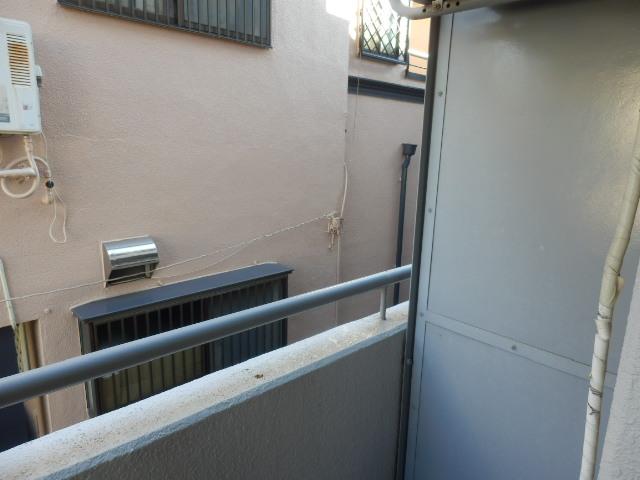 キソービクトリア自由が丘 205号室のバルコニー