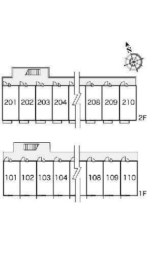 レオパレスラ メール 205号室のその他