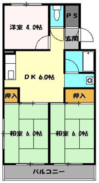 シャンボール豊田A 106号室の間取り