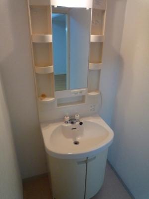 シャンボール豊田A 106号室の洗面所