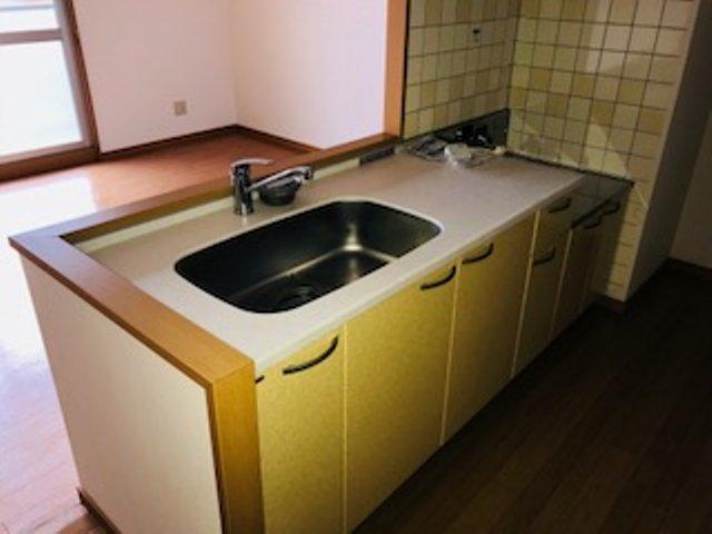 リベルテONE 302号室のキッチン