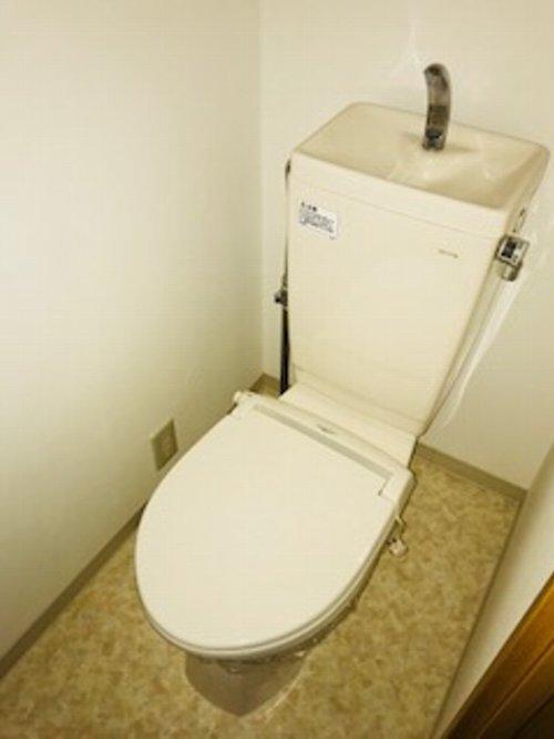 リベルテONE 302号室のトイレ
