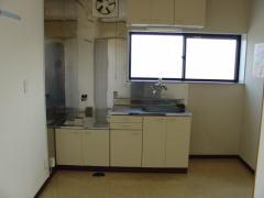 イーストヒル 201号室のキッチン