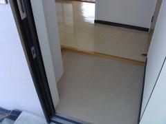 イーストヒル 201号室の玄関