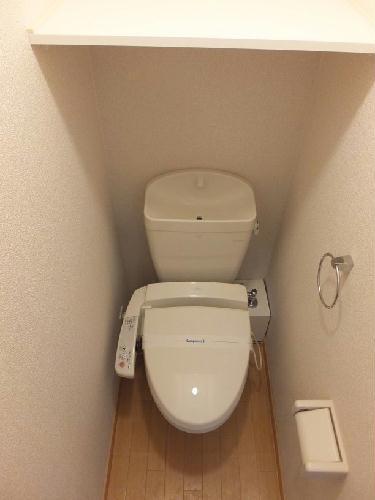 レオパレス中野木LA1 306号室のトイレ