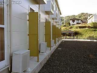 レオパレスリバーサイド 107号室のバルコニー