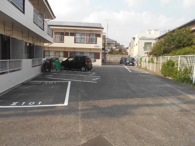 水源ハイツⅠ 203号室の駐車場