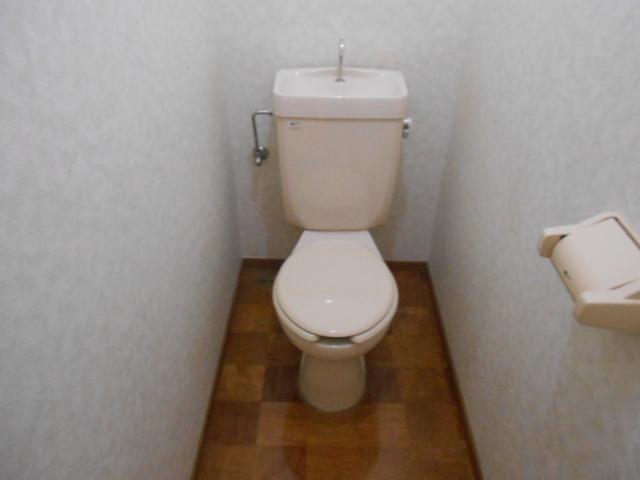水源ハイツⅠ 203号室のトイレ