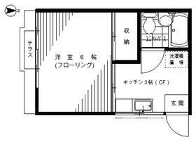 菅田方アパート 101号室の間取り