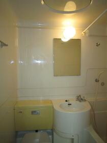 菅田方アパート 101号室の洗面所