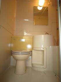 菅田方アパート 101号室のトイレ