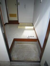 菅田方アパート 101号室の玄関