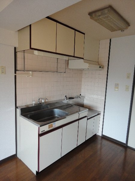 ウエストヒルズ斉藤 301号室のキッチン