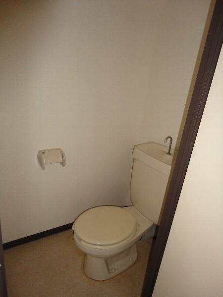 ウエストヒルズ斉藤 301号室のトイレ