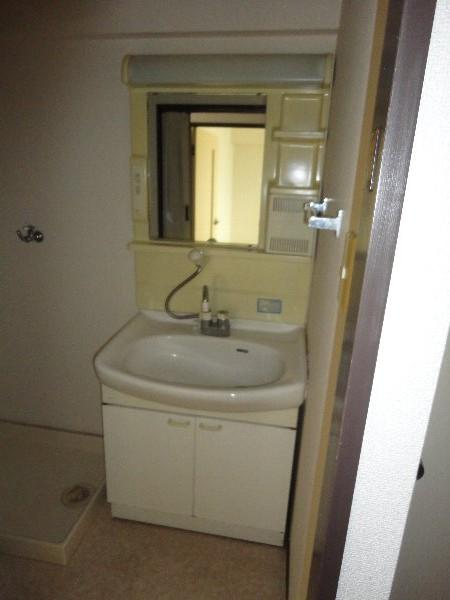ウエストヒルズ斉藤 301号室の洗面所