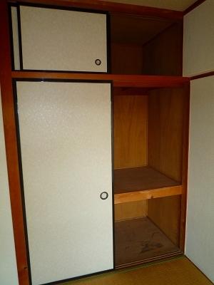 三宅ビル 402号室の収納