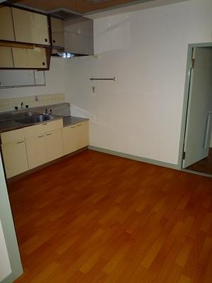 三宅ビル 402号室のキッチン