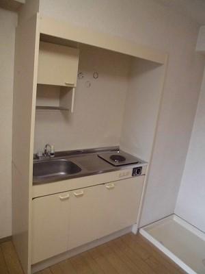 ライトヒル27 105号室のキッチン