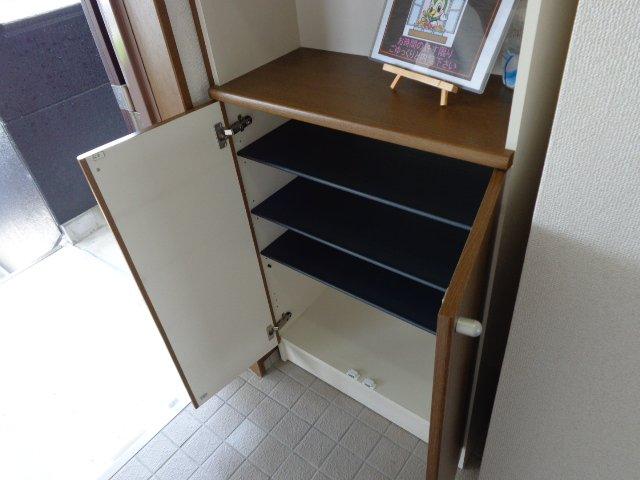 サンタプレイス岡崎 301号室の玄関