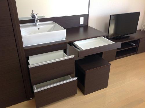 ミランダラピス 201号室の洗面所