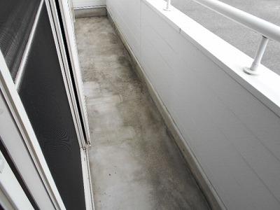 シャーウッドMI 206号室のバルコニー