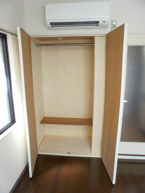 RX豊田 205号室の収納