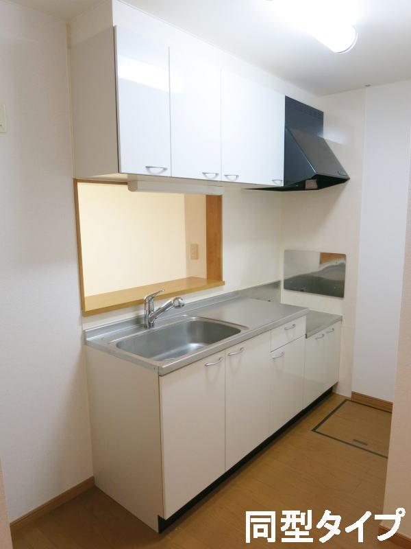 プロムナード壱番館 01010号室のキッチン