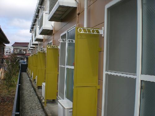 レオパレスグリーンサイド 105号室のバルコニー