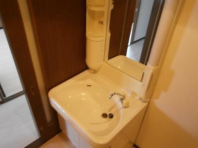 花曜日 202号室の洗面所