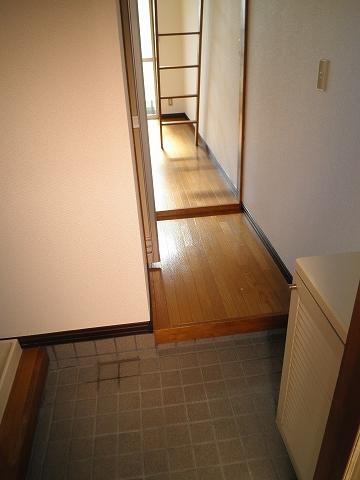 リード豊田 208号室の玄関