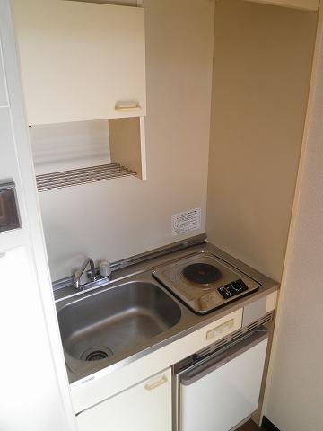 リード豊田 208号室のキッチン
