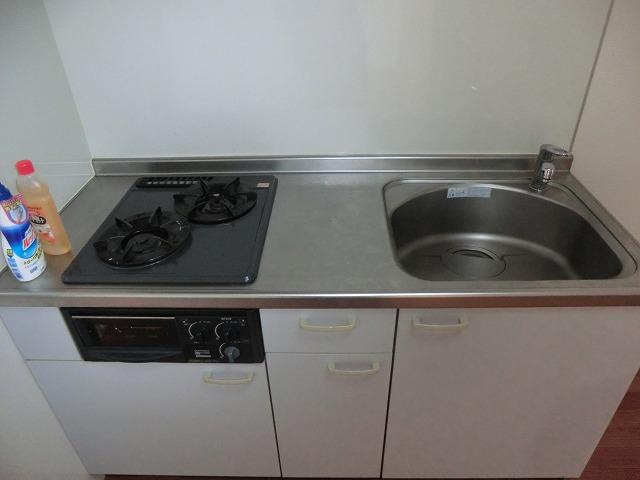 ハイツ新渡場 A棟 105号室のキッチン