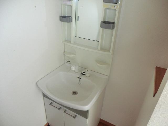 ハイツ新渡場 A棟 105号室の洗面所