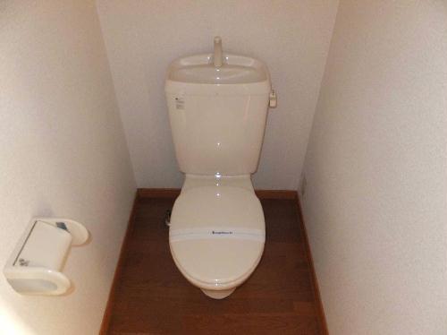 レオパレスフルールⅠ 206号室のトイレ