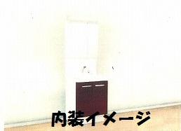双樹マンション 303号室の洗面所