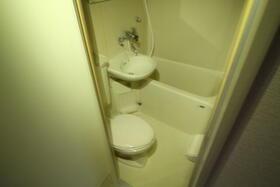 ベルピア六実第1-1 203号室の風呂