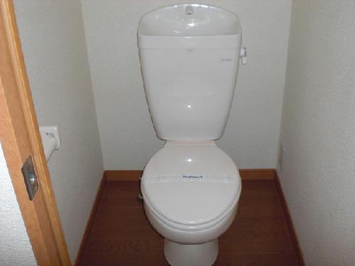 レオパレスフローラ 101号室のトイレ