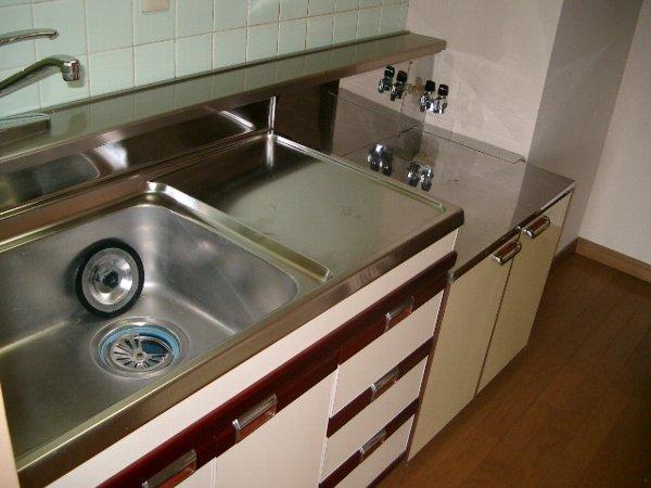 ミヨカワビル 402号室のキッチン