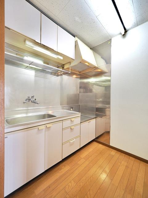 ヒルサイドテラス 302号室のキッチン