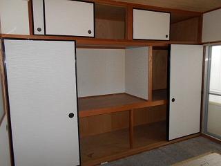ウエストワン 402号室の収納