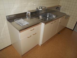 ウエストワン 402号室のキッチン