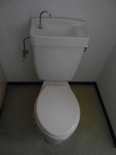 ウエストワン 402号室のトイレ